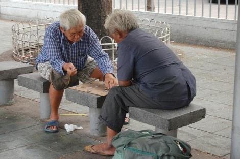 Na szczęście nawet w największym mieście są ludzie, którzy potrafią znaleźć chwilę dla siebie.