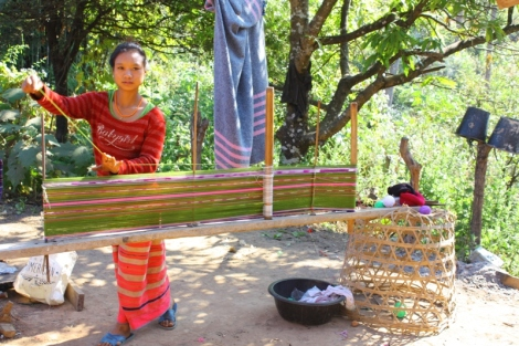 W górskich wioskach na północy żyją ludzie, których życie przyniosło tutaj z innych rejonów Azji.