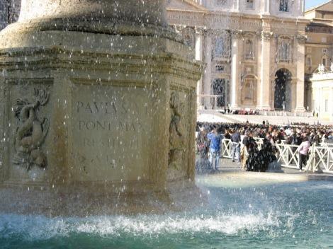 Środowa modlitwa w Watykanie