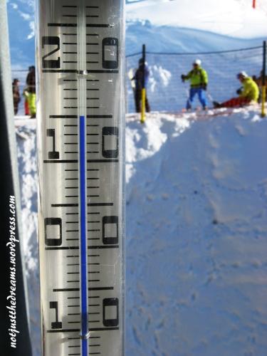 +15 stopni w słońcu, gruba warstwa śniegu... i jak tu nie kochać Alp?