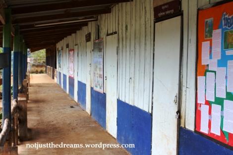 Szkoła w wiosce na północy Tajlandii zamieszkiwanej przez lud Lahu.