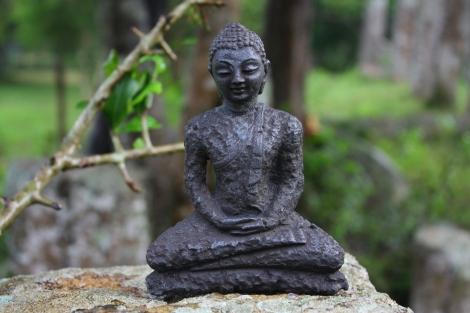A taką oto starożytną statuetkę buddy zaoferował mi jeden z lokalnych sprzedawców. Czy była oryginalna? Nie sądzę. Ale była głęboko schowana w koszyku i zdecydowanie wyglądała na starą.