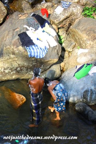 Wodospad służy nie tylko do oglądania.