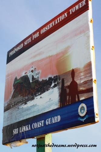 """Plan zagospodarowania wysepki przy plaży. Byłam """"zachwycona"""" tym widokiem."""