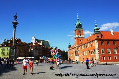 Krakowskie Przedmieście i Zamek Królewski