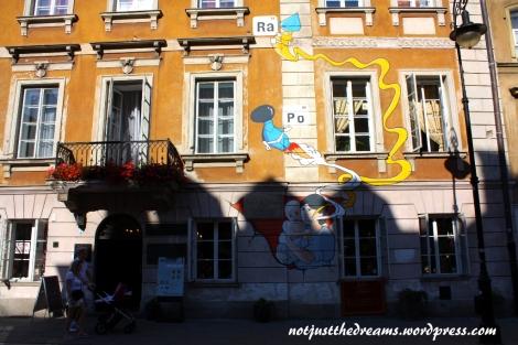 W tym domu urodziła się Marie Currie-Skłodowska.
