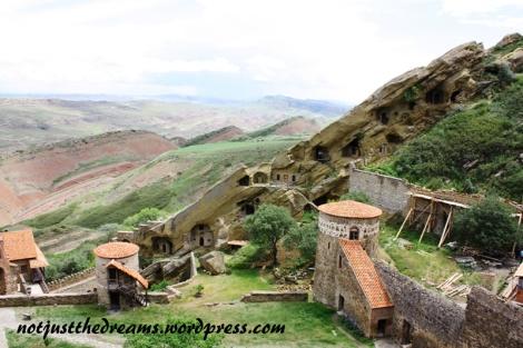 To właśnie w tym monastyrze nadal mieszkają mnisi.