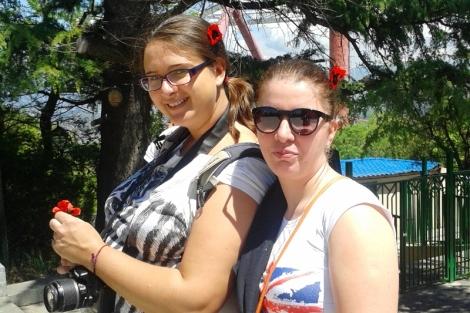Z moją gruzińską CS siostrzyczką w Tbilisi