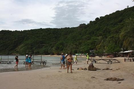 Ao Phrao. Ponoć najpiękniejsza plaża na wyspie.