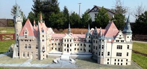 Zamek w Mosznej. Oryginał dodany do Bucket List.