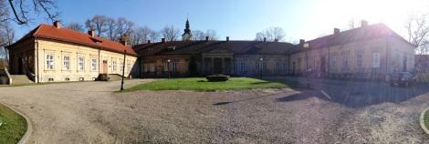 Pałac w Andrychowie w miniaturze wyglądał zdecydowanie lepiej.